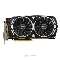 Photo MSI GeForce GTX 1060 ARMOR 6G OCV1