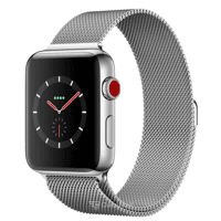 Smart watches,sports bracelets Apple Watch Series 3 (GPS) 42mm Stainless Steel w. Milanese L. (MR1U2)